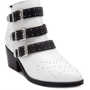 Amazon Shoes - NEW IN BOX - buckle strap bootie